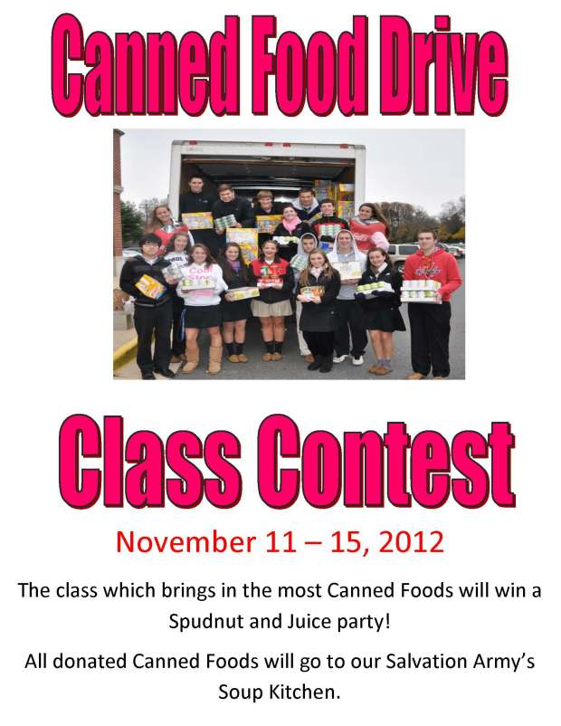 NHS_Canned_Food_Drive
