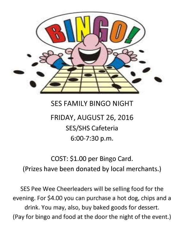PTO KICK OFF MEETING and BINGO