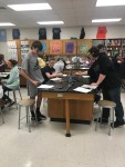 SHS Students Studying cellular respiration