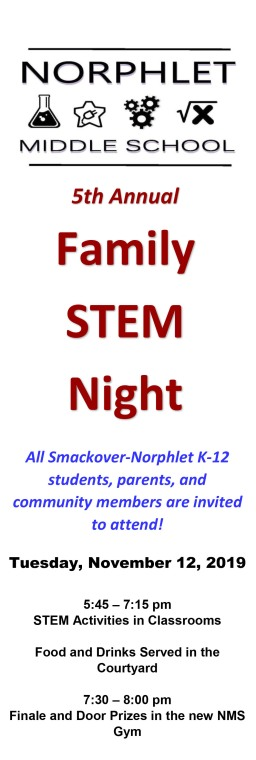 STEM Night Poster