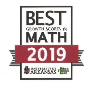 Best Growth Scores in Math 2019