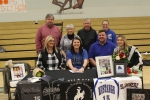 Smackover High School senior Lydia Pullin at her Signing with Central Baptist College in Conway Arkansas Pic 1