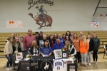 Smackover High School senior Lydia Pullin at her Signing with Central Baptist College in Conway Arkansas Pic 2