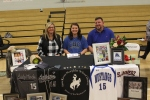 Smackover High School senior Lydia Pullin at her Signing with Central Baptist College in Conway Arkansas Pic 3