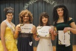 1st,2nd,3rd, and 4th Place Winners of the 2019 Miss Smuckover Pageant