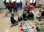 NMS Robotics Students Competing in competition