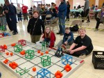 NMS Robotics Students Competing in competition Pic 2