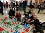 NMS Robotics Students Competing in competition Pic 3