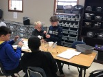 Norphlet Middle School 5th Students investigating Mixtures Pic 5