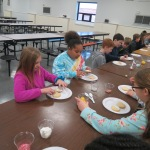 SES Students who met their AR Goals Enjoying Cookies Picture 4