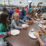 SES Students who met their AR Goals Enjoying Cookies Picture 5