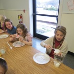 SES Students who met their AR Goals Enjoying Cookies Picture 10