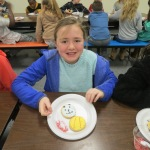 SES Students who met their AR Goals Enjoying Cookies Picture 12