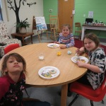 SES Students who met their AR Goals Enjoying Cookies Picture 18