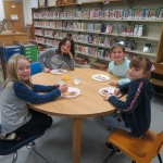 SES Students who met their AR Goals Enjoying Cookies Picture 19