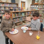 SES Students who met their AR Goals Enjoying Cookies Picture 20