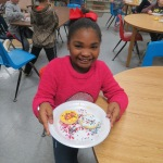 SES Students who met their AR Goals Enjoying Cookies Picture 24