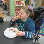 SES Students who met their AR Goals Enjoying Cookies Picture 27